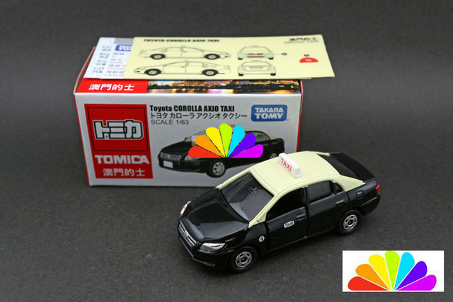 Tomica Tomy For Toyota Corolla Axio Taxi 1 63 Car Model Matchbox Children Toy