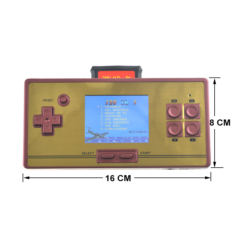 20 Stücke Mini Video Gaming Konsole Für Fc30 Pro Eingebaute 260 Klassische Spiele 8 Bit Handheld Spiel Spieler Unterstützung Tv Ausgang Dhl Schiff Videospiele