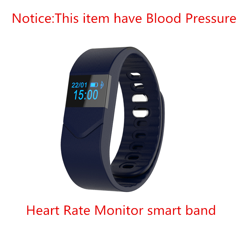 Blood pressure monitor smart bracelet heart rate wristband ...