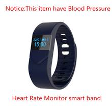 Blood pressure monitor smart bracelet heart rate wristband for IOS and Android smart phone for your fitness tracker