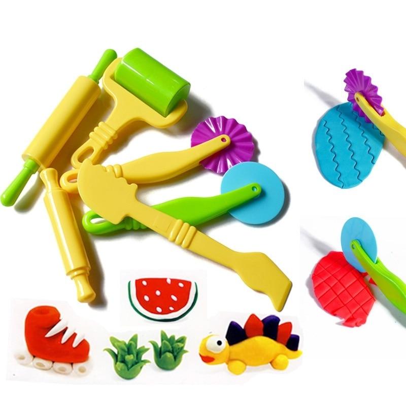 6x Aardewerk Klei Plasticine deeg sculptuur Modeling Tools kinderen - Leren en onderwijs