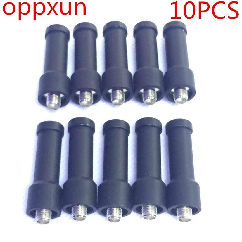 OPPXUN 10 Pcs Mini SMA-Femelle Dual Band Souple Antenne pour Kenwood Talkie Walkie Radio BAOFENG UV-5R Plus BF-888S PuXing Wouxun TYT