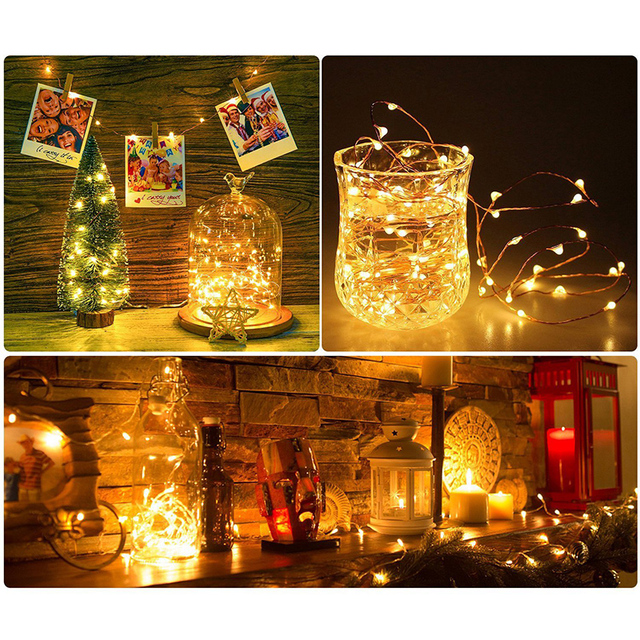 LED Starry String battery Lights
