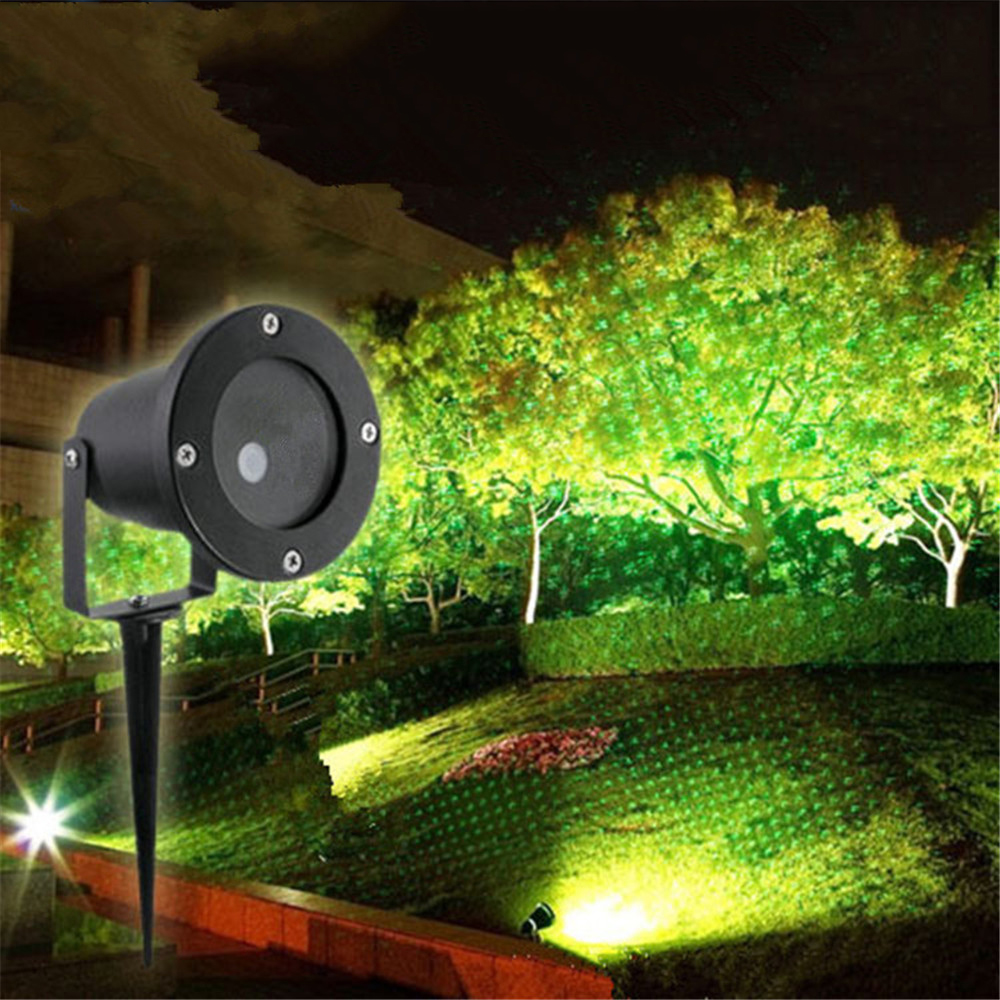 LED Laser Projector Light Red And Green Outdoor Moving