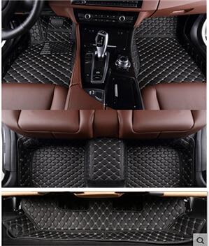 Newly! Custom special floor mats for Toyota Highlander 7 seats 2018-2015 non-slip car carpets for Highlander 2016,Free shipping