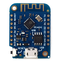 D1 Mini Mini NodeMcu 4M Bytes Lua WIFI Internet Of Things Development Board Based ESP8266