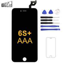 5.5 Inch Black White No Dead Pixel Display For iPhone 6S Plus LCD Touch Screen Panel With 3D Touch Phone Replacement Spare Part цена