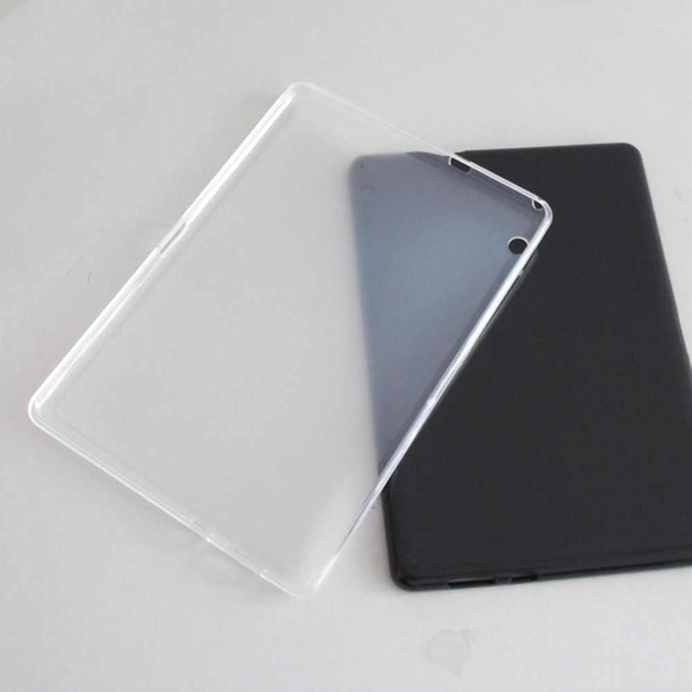 Eagwell Мягкий ТПУ чехол для huawei MediaPad T3 10 9,6 Дюймов прозрачный силиконовый чехол для планшета Protecive чехол для huawei T3 10