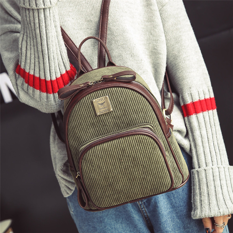 New fashion small backpack backpack Mini boom Korean female college wind all match female bag