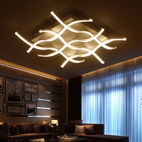 Rectangle Acrylic Modern Led Ceiling Lights For Living Room Bedroom Lamparas De Techo Colgante Square Led