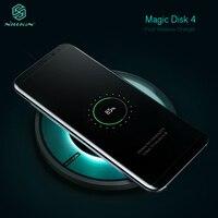 מהיר מטען אלחוטי להערת iphone Samsung המקורי Nillkin מותג מג 'יק דיסק 4 מהיר Chargeing טלפון אלחוטי צ' י באיכות טובה