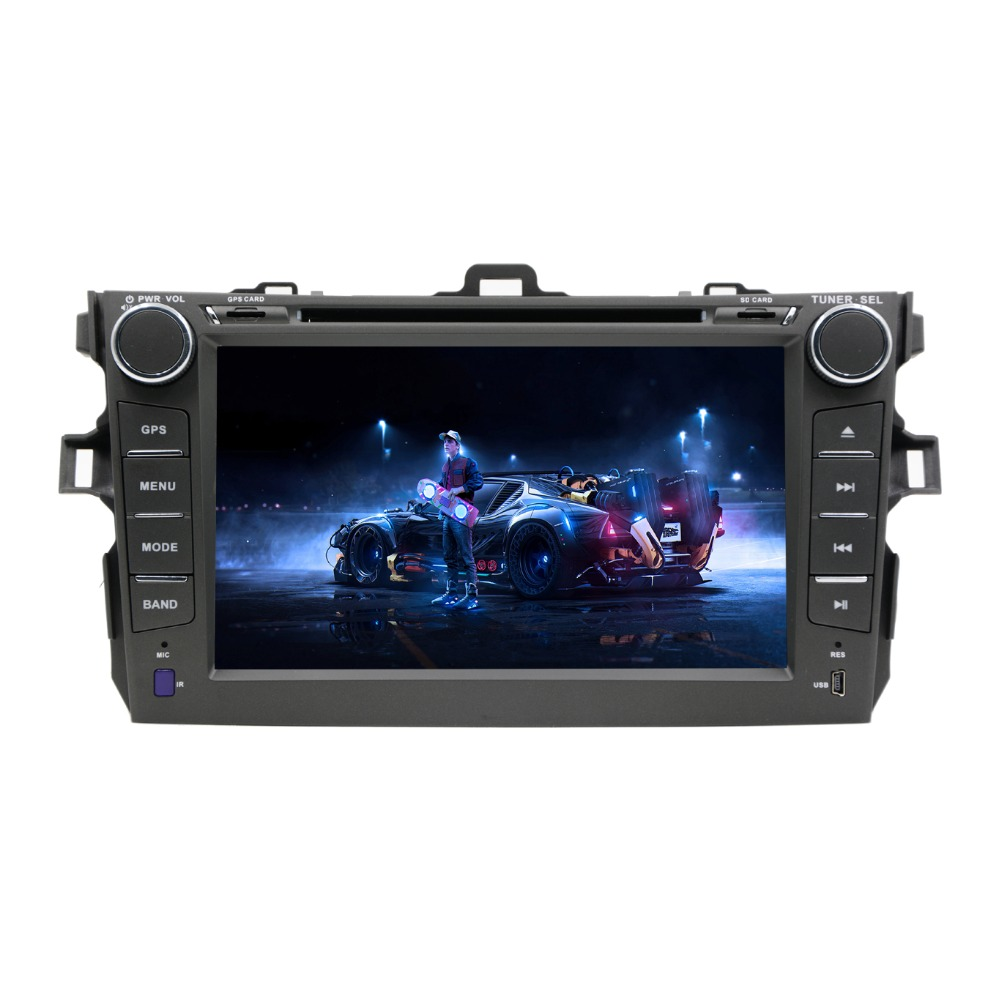 Quad Core 1024*600 2 din Android 7.1 for TOYOTA COROLLA 2001 2006 2007 2008 2009 2010 2011 Car DVD Player Navigation GPS Radio