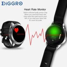 Smart watch Diggro DI01 Android 5.1 1GB ROM 16GB RAM Heart Rate Monitor Support Camera 3G WIFI GPS SIM Waterproof Smartwatch