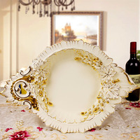A large fruit plate pull European American Pastoral fashion set the living room coffee table decoration Decor