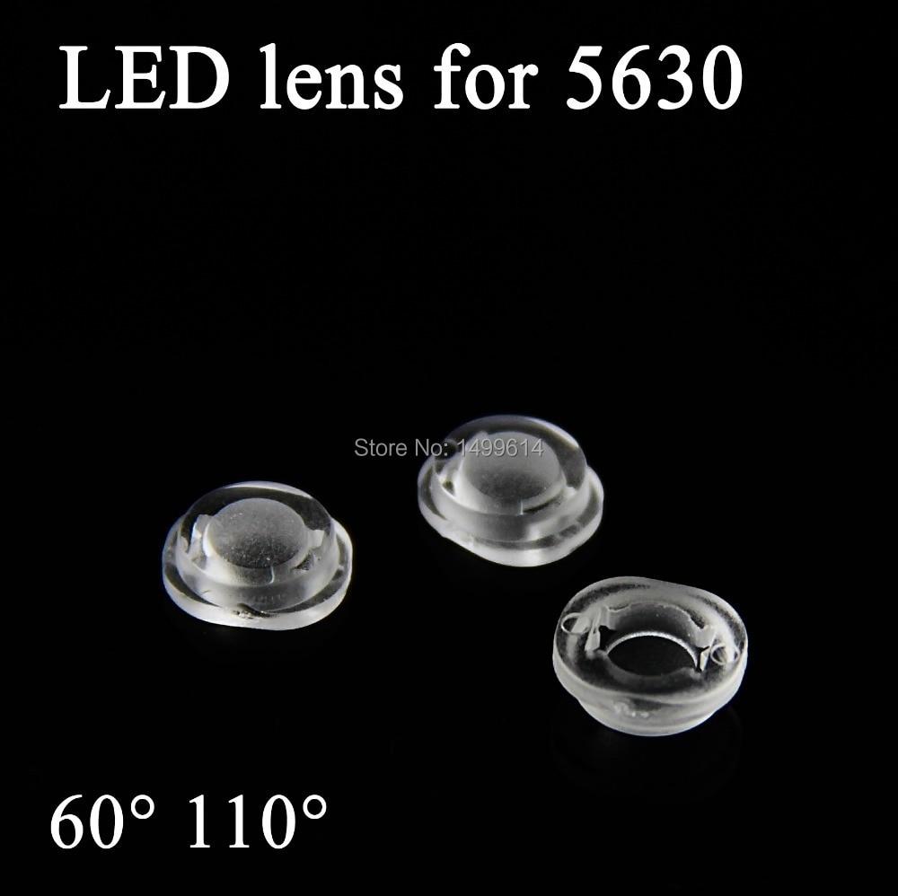 Dimmer Für Led Len 100pcs led lens for smd 5630 light 60 110degree high quality convex
