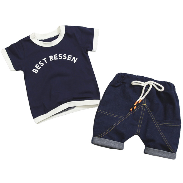 9622bc0b64b2c US $6.98 27% OFF|Aliexpress.com : Buy Toddler Boys Clothing Sets 2019  Summer Boys Clothes Set Outfit Kids Clothes Sport Suit For Boys Children ...