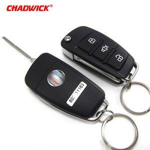 Image 4 - CHADWICK 8118 für japanische auto #7 flip schlüssel Auto Alarm System withSiren one Way Auto Sicherheit Keyless Entry fahrzeug anti diebstahl