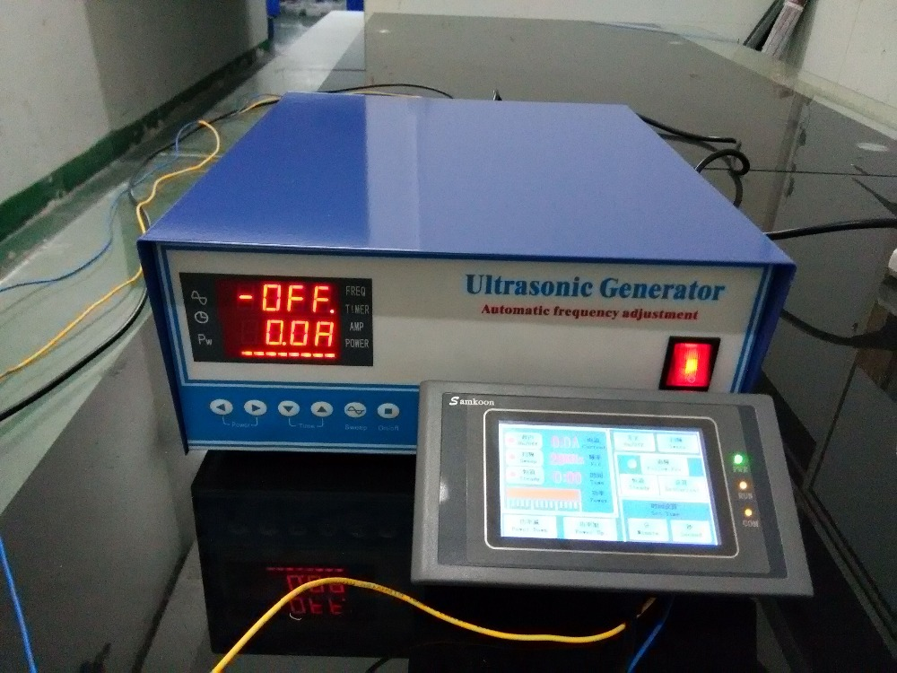 5000W RS485 Network Ultrasonic cleaning Generator,CE and FCC