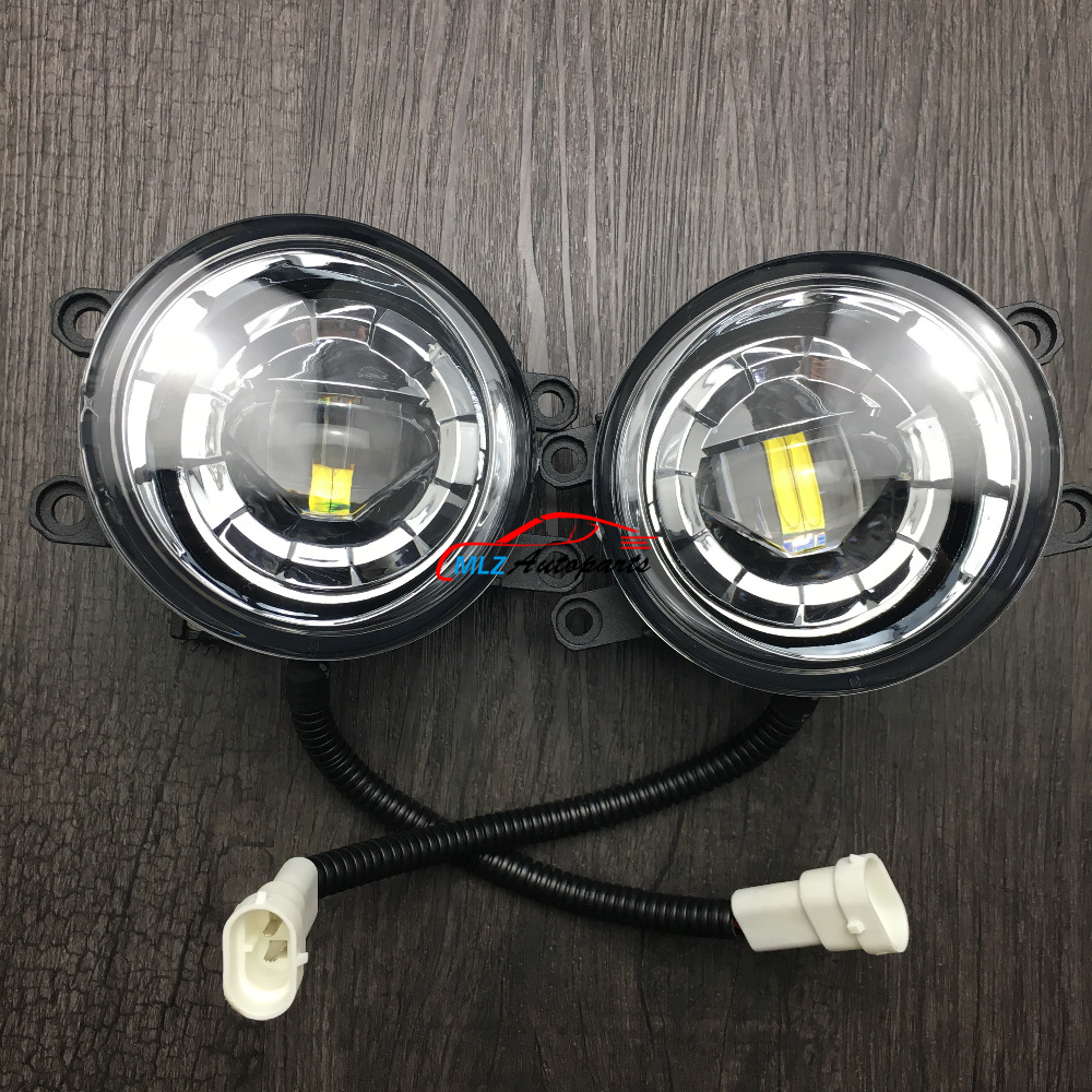 hight resolution of front bumper led fog lamp daytime running light replacement assembly 2p for toyota camry camry hybrid 2007 2013 in car light assembly from automobiles