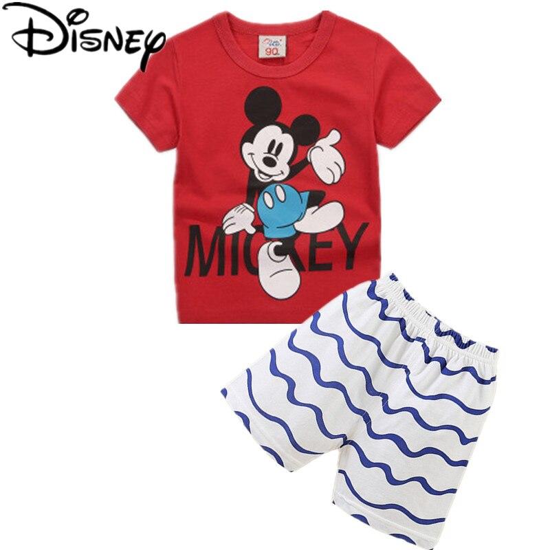Disney Boys Clothes Summer Baby casual Boy Clothes ...