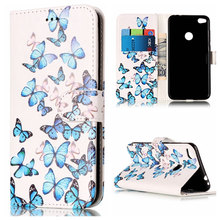 купить Flip Mobile Phone Case For Huawei P10 P9 P8 Lite 2017 Wallet Card Slot PU Leather Soft Silicone Holder Cover Girl Capa DP01G дешево