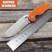 LDT RAT Tactical Folding Knife AUS-8 Blade G10 Handle Hunting Survival Tools Outdoor Camping Utility Pocket Model 1 EDC Knives