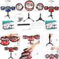 2017 1 Unidades jazz tambor juguetes forkids juguete educación temprana instrumento de percusión grandes regalos 2 colores