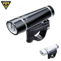 Topeak WHITELITE LED przód roweru latarka kierownica roweru górskiego bezpieczeństwa reflektor noc latarka rowerowa szosowe światło przednie