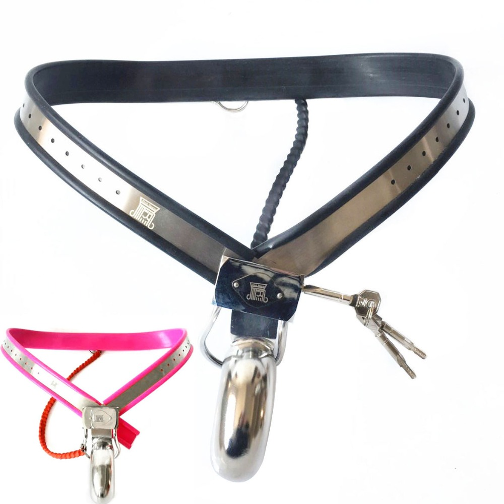 Male chastity belt locks metal penis sleeve cock cage stainless steel chastity device sex toys for