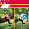 Thicken Canvas Single Camping Hammock Outdoors Durable Breathable 280x80cm Hammocks Like Parachute For Traveling Bushwalking