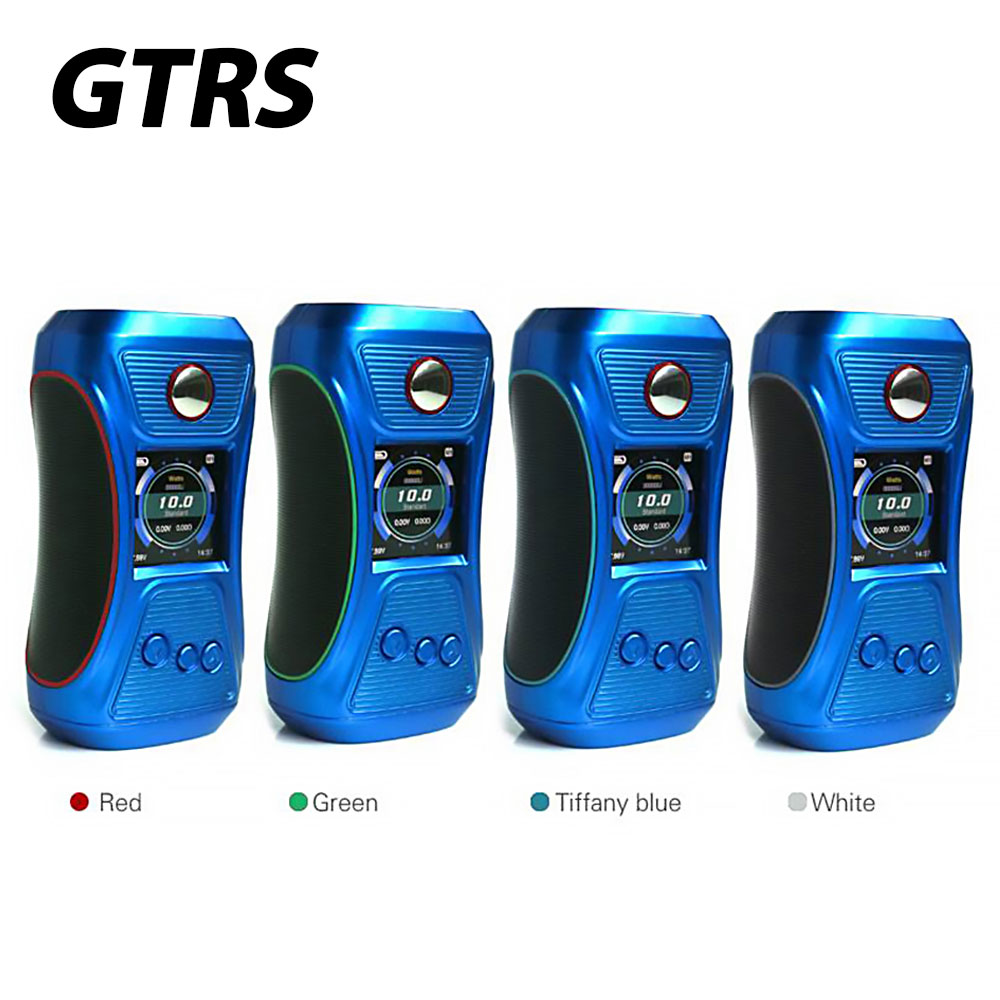 Original GTRS VBOY 200 TC Box MOD with SX500 Chip & 200W Max Output & 1.3-inch Full Color Display E-cig Vape VBOY Mod No Battery набор из 2 х кашпо ротанг виолетпласт