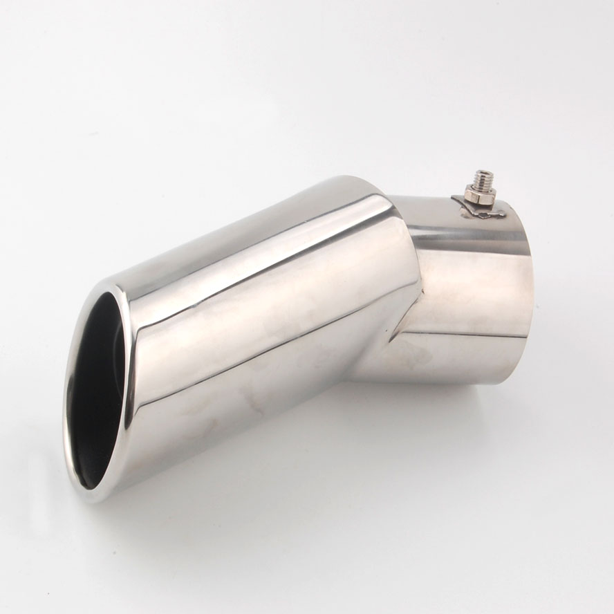 Rubber mats discovery 4 - 1pc Stainless Steel Exhaust Muffler Tail Tip Pipe End For Lr4 Discovery 4 2010 2015 Car Styling Auto Accessories