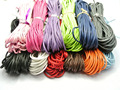 120 Meters Mixed Color Waxed Cotton Beading Cord Thread Line 2mm Jewelry String