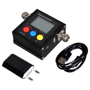 Image 5 - SureCom SW 102 Digital Power Tester SWR Meter  Frequency Counter & 2 RF Adapter Cover 125MHz~520MHz for Ham Transceiver Scanner