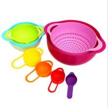 8 teile/satz Marke hohe qualität mutter tag geschenk Multicolor kreative geschirr set küche Bowl kitchen tool set Freies verschiffen