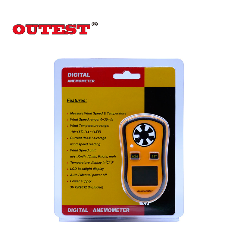 Original Benetech Brand Gm8908 30m S 65mph Digital Hand Held Wind Sd Gauge Meter Measure Anemometer Thermometer In Measuring Instruments From
