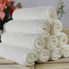 Бамбуковое волокно полотенце для мытья масла ткань для мытья посуды двойной слой 27x30 большой размер