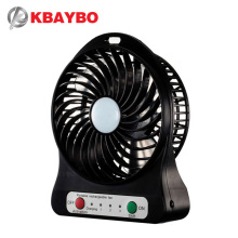 Fan USB Rechargeable Portable Desk Mini Fan USB Electric Air Conditioning Small Fan Adjustment 1200mA for home Office