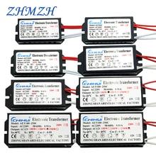 Chihui Electronic Transformer 60W 80W 105W 120W 160W 180W 200W 250W AC220V to 12V For Halogen lamp & Crystal Lamp G4 Light Beads