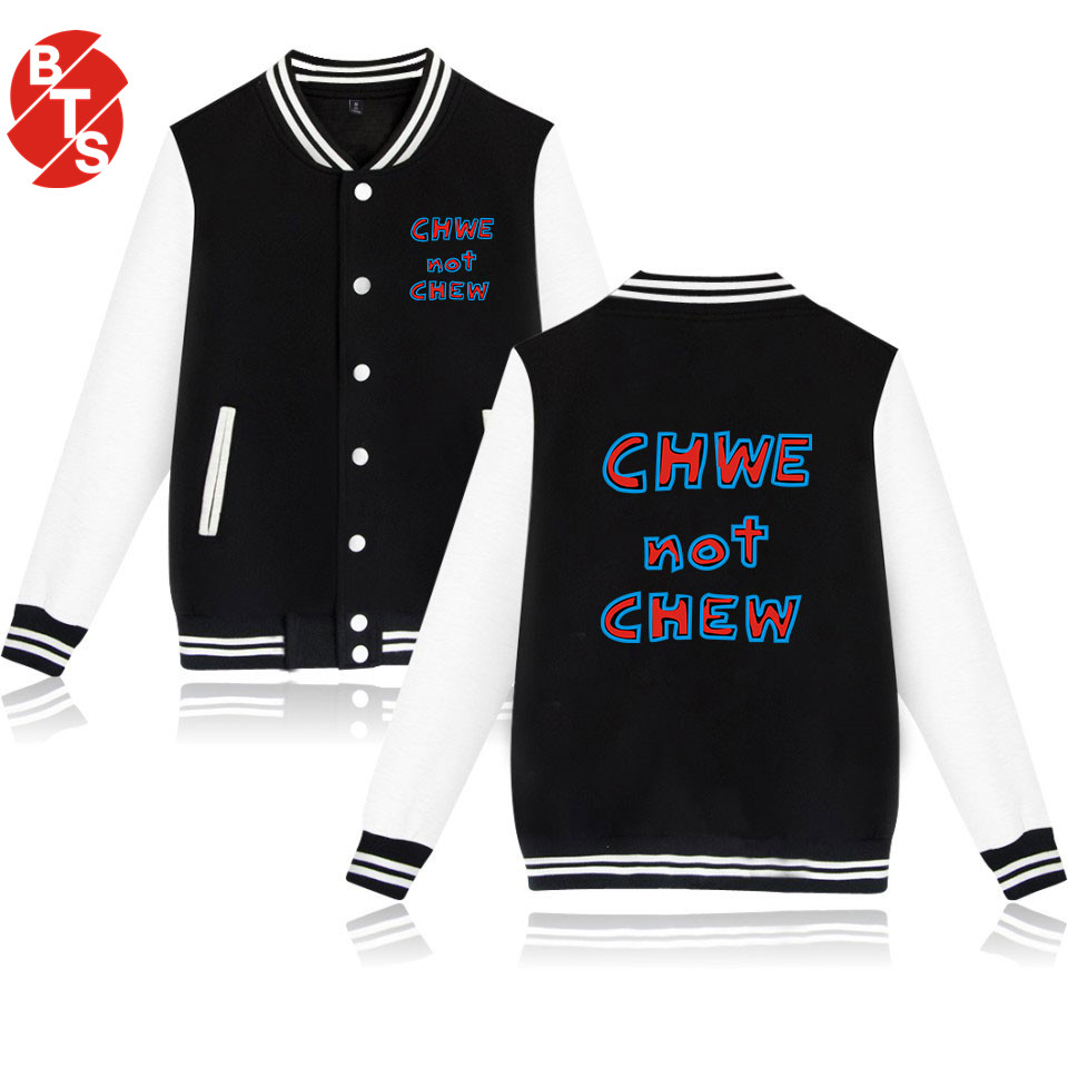 BTS 2018Winter/Autumn Popular Women Sexy Jacket Long Hot Sale Men Jacket Cool Winter Jacket Casual Print Plus Size 4XL