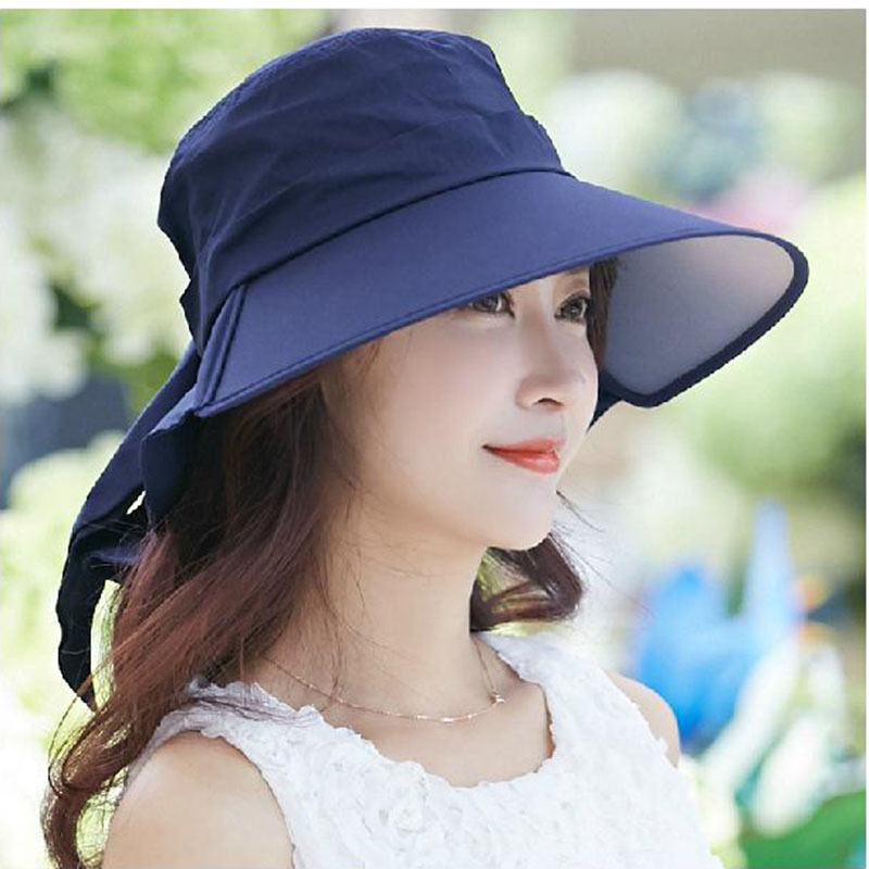 f26edee84e8 Fashion Summer Hats Girl Woman Foldable Wide Brim Roll Up Sunhat Straw  Beach Hat Visor Cap Fashion chapeau Caps-in Sun Hats from Apparel  Accessories on ...