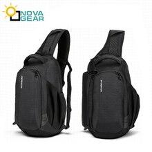 цена на NOVAGEAR 80611 DSLR Camera Bag Case Photo Bag Shoulder Strap for Canon/Nikon/Sony DSLR Cameras +Rain Cover