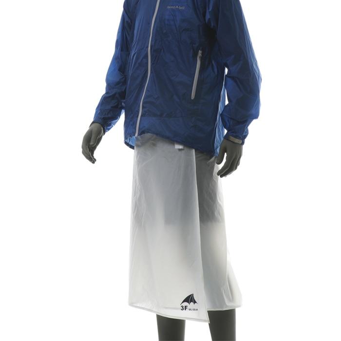 Cycling Camping Hiking Rain Pants Lightweight Waterproof Rain Skirt Kilt 65g