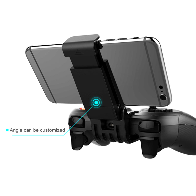 iPega PG-9078 Bluetooth Gamepad V4.2 Wireless Game Controller Joystick with Adjusted Holder for Android/ iOS/ Windows Tablet PC
