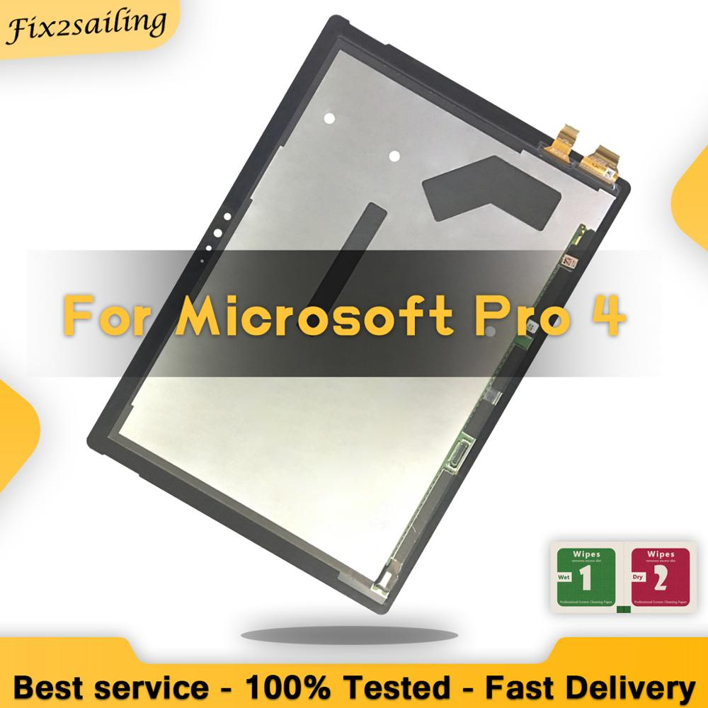 Lcd For Microsoft Surface Pro 4 1724 Display Screen Digitizer Touch Panel Glass Assembly Replacement