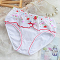 Kids Girls Fashion Underwear Children Girls Panties Baby Girls'  Cotton Briefs Floral Children Panties 12 Pcs/lot