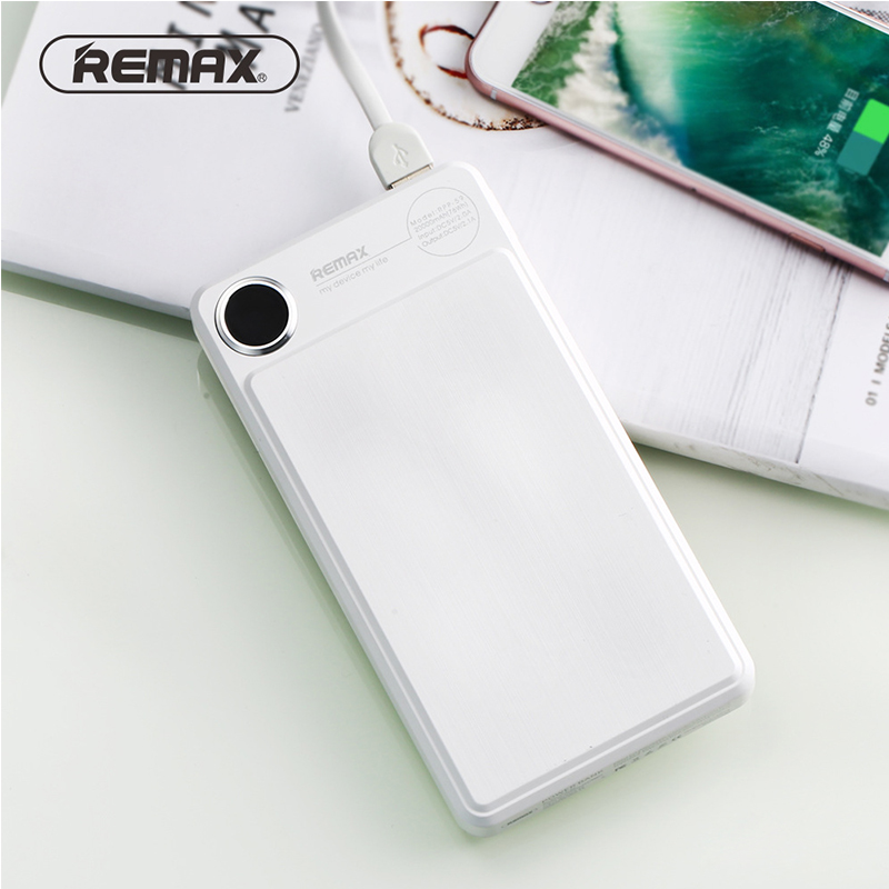 Remax 20000 mAh LCD batterie externe double USB Portable chargeur Powerbank pour Xiao mi Iphone chargeur de batterie externe