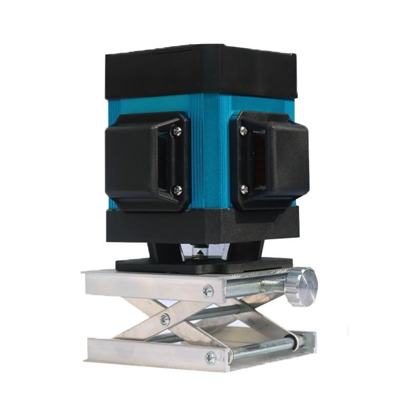 XEAST Hot 12 poziom lasera liniowego do układania płytek samopoziomujący 360 poziome i pionowe krzyż zielony poziom lasera 3D