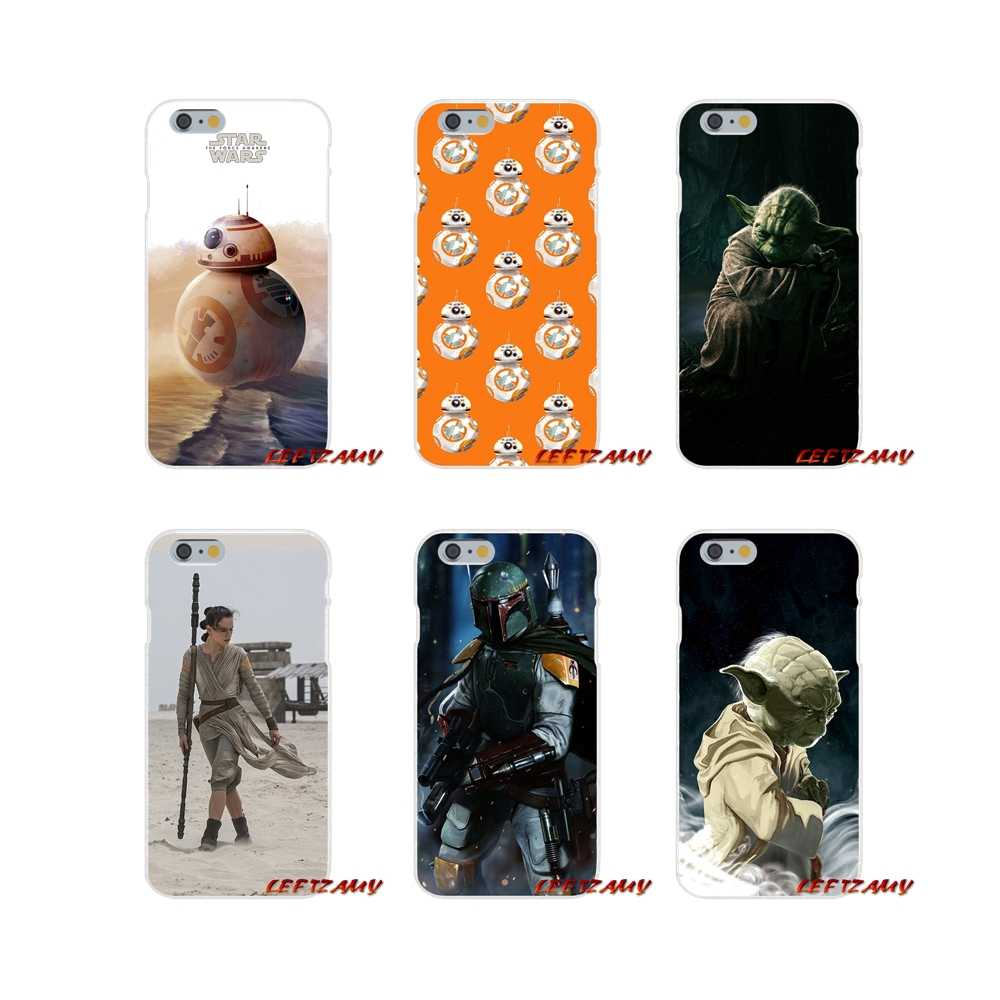 Star Wars Yoda BB 8 Droid Robot Accessories Phone Cases Covers For ...