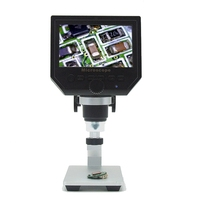 600x 디지털 전자 현미경 휴대용 3.6mp 휴대 전화 현미경 hd pcb 마더 보드 수리 돋보기 al-alloy stent
